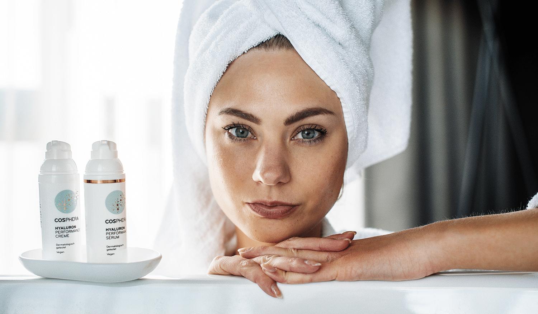 Wie wirkt Hyaluronsäure in der Kosmetik?