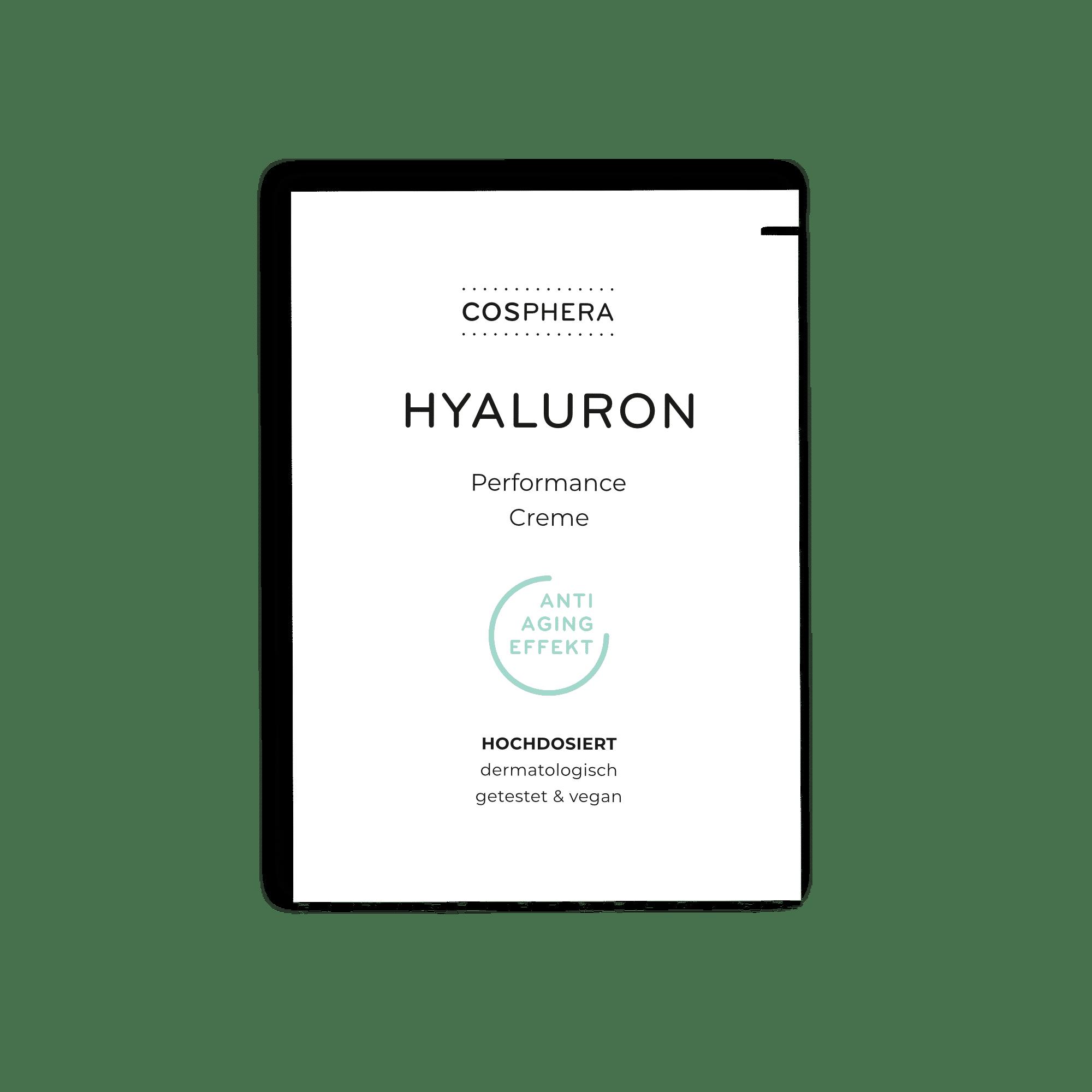 Hyaluron Performance Creme Probe (2-ml Sachet)